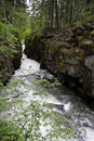Rogue River Gorge, Oregon Stock Photos