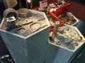 Roheisen im metallex bangkok thailand Lizenzfreie Stockfotos
