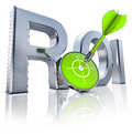 Roi icon high resolution d rendering of a Stock Photo