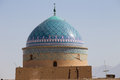 Rokn od din dome in yazd view of mausolée de Royalty Free Stock Photo