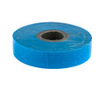 Roll of blue insulating tape Stock Photography