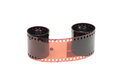 Roll of color film Royalty Free Stock Photo