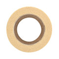 Roll of masking tape on white Royalty Free Stock Photos