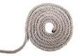 Roll of nautical rope Royalty Free Stock Photo