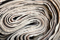 Roll of newspaper Royalty Free Stock Photo