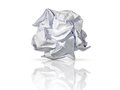 Roll of paper waste recycling concept Royalty Free Stock Photo