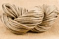 Roll of rope texture,burlap Royalty Free Stock Photo