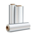 Roll of wrapping plastic stretch film Royalty Free Stock Photo