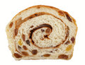 Rolled Cinnamon Raisin Bread Stock Image