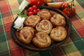 Rolled meat pies