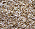 Rolled oats, oatmeal, flakes. Royalty Free Stock Photo