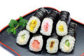 Rolled sushi Royalty Free Stock Photography