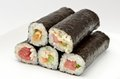 Rolled sushi Royalty Free Stock Photo