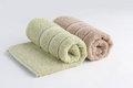 Rolled up towels Royalty Free Stock Photography