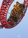 Roller coaster fun  Stock Images