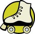 Roller Skate Vector Illustration