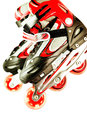 Roller skates Royalty Free Stock Photo