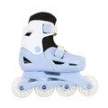 Roller skates isolated on white background Royalty Free Stock Photos
