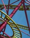 Rollercoaster Στοκ Εικόνα