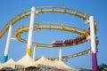 Rollercoaster on Santa Monica Pier