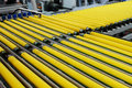 Rollers of conveyer Royalty Free Stock Photo