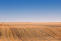 Rolling Golden Harvested Fields Royalty Free Stock Photography