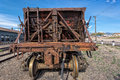 Rolling stock at nevada northern railway museum east ely bogey the usa Royalty Free Stock Image