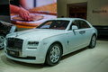 Rolls royce car series is bmw s brand was established in in the uk with an aristocratic world renowned automobile Royalty Free Stock Photo
