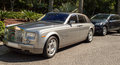 Rolls royce outside atlantis hotel in dubai Stock Photography