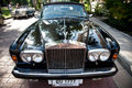 Rolls Royce Silver Shadow on Vintage Car Parade Royalty Free Stock Photo