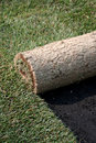 ROLLS OF TURF - LAWN Royalty Free Stock Photos