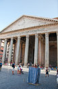 Rom august der pantheon am august in rom italien Stockfoto