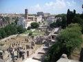 Roma city italy Royalty Free Stock Images