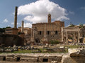 Roma - Forum Romanum Royalty Free Stock Photo