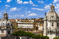 Roma skyline Royalty Free Stock Photo