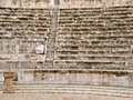 Roman amphitheater in Amman Stock Images
