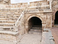 Roman amphitheater in Amman Stock Image