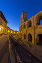 Roman Amphitheater - Arles - South of France Stock Image
