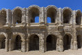 Roman Amphitheater - Arles - South of France Stock Images