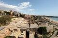 Roman Amphitheater in Tarragona Royalty Free Stock Images