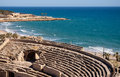 Roman amphitheater of tarragona spain catalonia Stock Image
