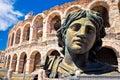 Roman amphitheatre Arena di Verona view