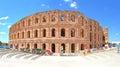 The Roman amphitheatre of El Jem Royalty Free Stock Photo