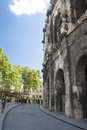 Roman Amphitheatre of Nimes Royalty Free Stock Photo