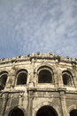 Roman Amphitheatre, Nimes Royalty Free Stock Photo