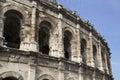 Roman Amphitheatre, Nimes Royalty Free Stock Photo
