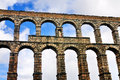 Roman Aquaduct Royalty Free Stock Photography