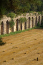 Roman aqueduct near manavgat turkey side Stock Image