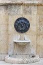 Roman bas relief in tarragona spain Stock Images