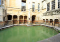 Roman bath at bath in england one of the baths the ancient religous complex somerset this is the king s the site of the holy Royalty Free Stock Image